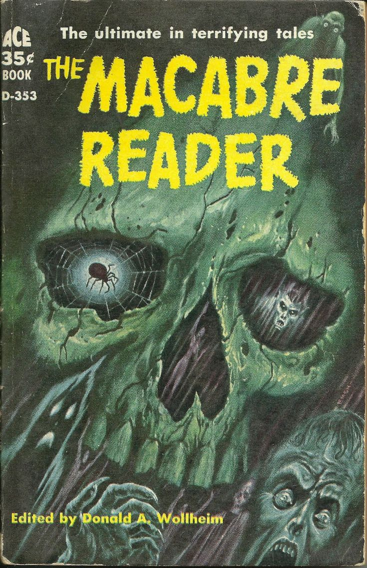 Uncle Doug's Bunker of Vintage Horror Paperbacks: I'm BAAACK!!