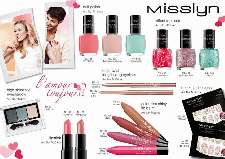 #Misslyn #L'Amour #Toujours? #Kollektion #Nagelsticker #Nagellack #Effekt #LipBalm #Lippenstift #Lidschatten #eyeliner #LE