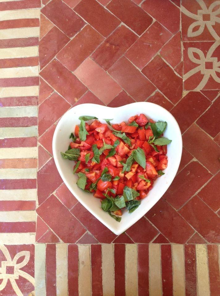 insalata di pomodori con amore