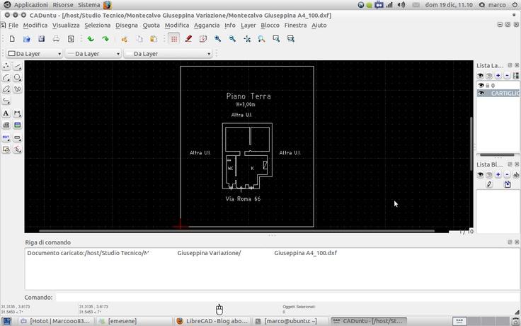 Un software gratuito per realizzare disegni tecnici: LibreCAD