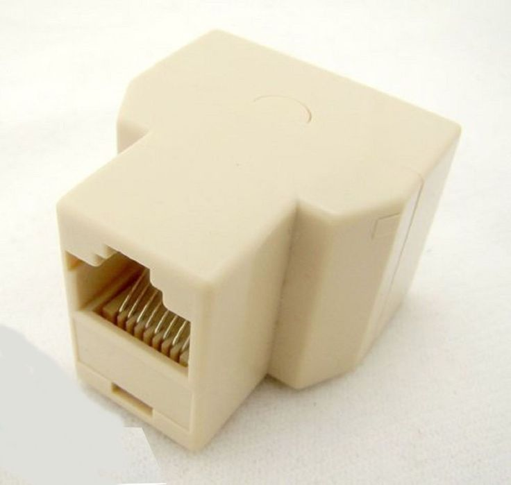 DIVISOR RJ-45 RJ45 DUPLICADORA divisor cable de red Ethernet INTERNET LAN