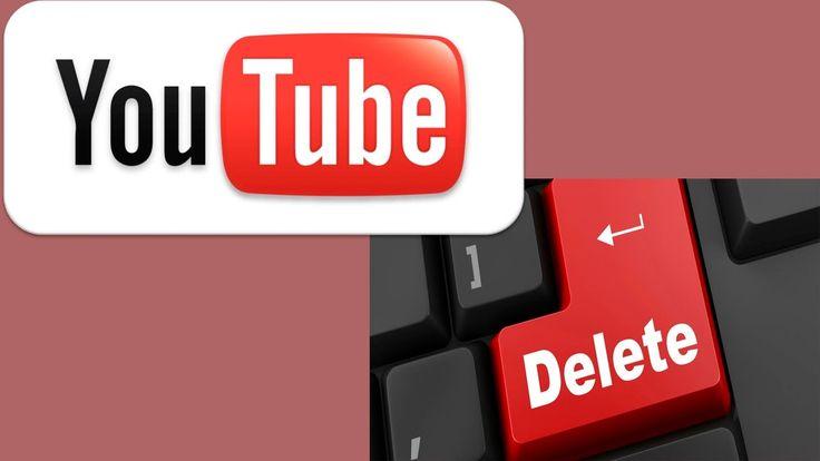 Как удалить канал на youtube вместе с контентом