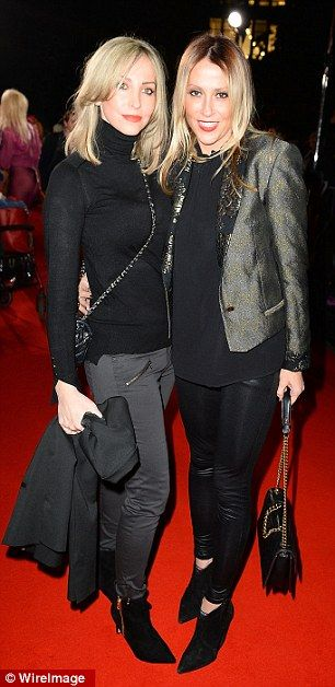 Appleton (pictured with her sister Natalie) says she put her career on hold...