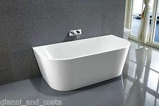 Bathroom Acrylic Free Standing Bath Tub 1700x800x580 Freestanding