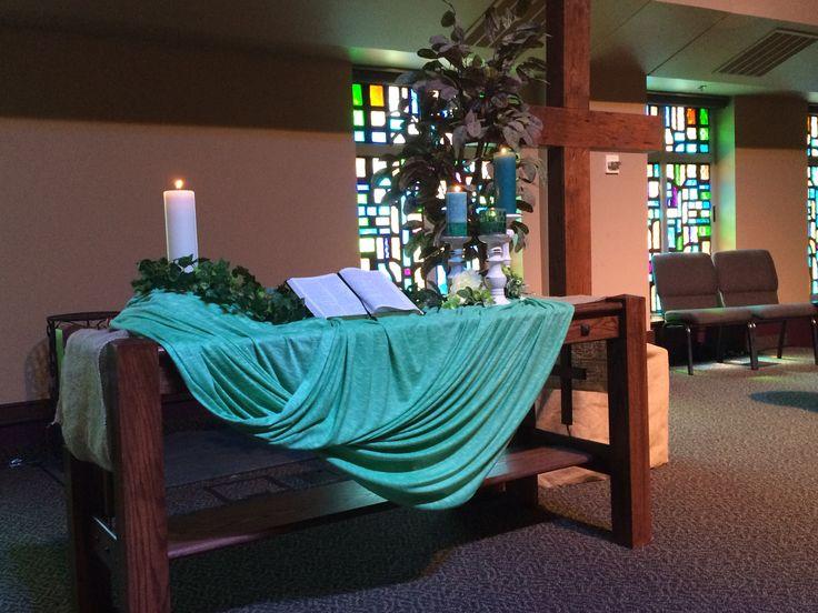 Kingdomtide 2015, Worship Center, Grace Avenue UMC. Altar  DecorationsRetreat IdeasEaster ...