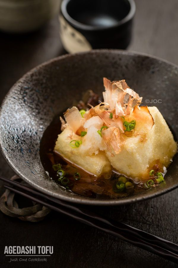 [JAPAN] Agedashi Tofu | Easy Japanese Recipes at JustOneCookbook.com