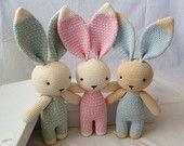 Items op Etsy die op Amigurumi schattige Bunny roze lijken