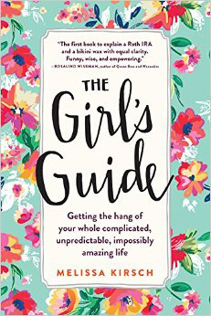 If you're someone that prefers strong, steady direction, Melissa Kirsch'sThe Girl's Guideshould be your new bible-of-sorts. Filled with guides from everything to how to find an apartment to how to end a friendship, it's basically a starter pack for your 20s.  The Girl's Guide:Getting the Hang of Your Whole Complicated, Unpredictable, Impossibly Amazing Lifeby Melissa Kirsch, $17.95, available atHudson Booksellers