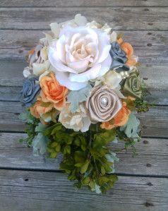 Bridesmaid bouquet http://sakurahsflowerstudio.wordpress.com/2014/10/12/rustic-and-vintage-wedding-flowers/