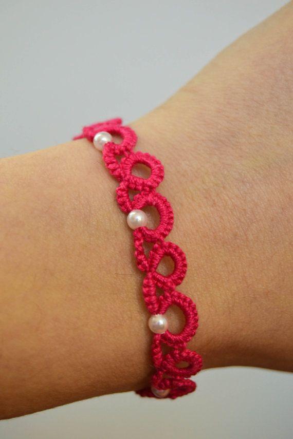 simple bracelet or edging.