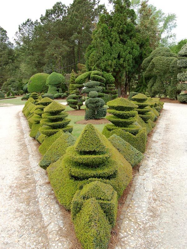 Pearl Fryer Topiaries and Sculpture...cool. His inspirational story is even cooler!