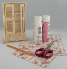 greenleaf orchid dollhouse | Wall Papering Your Dollhouse Before You Build