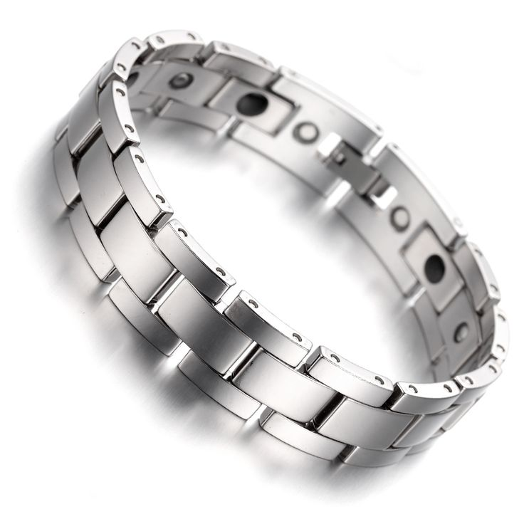 """Cheap bracelet god, Buy Quality bracelet ruby directly from China bracelet association Suppliers: PRODUCT ID: B1405 METAL: Tungsten COLOR: Silver SIZE: L: 8"""", W:15mm"""