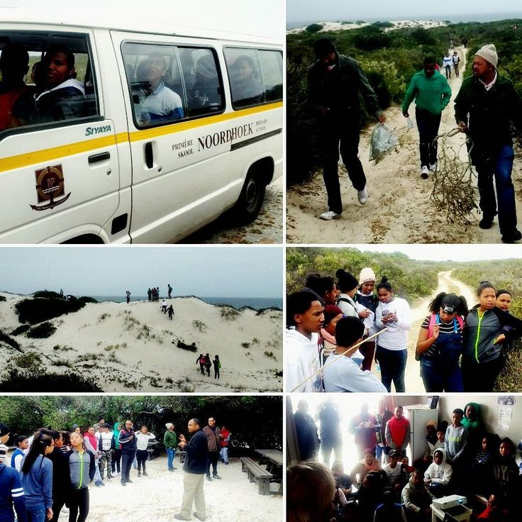 In good company during our first adventures on the west coast. Hunting pathogens with #NoordhoekPrimary. #westcoast