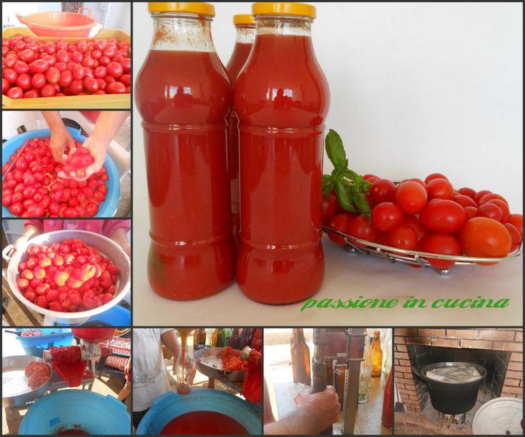 Avete mai provato a preparare la passata di #pomodoro in casa? un procedimento lungo ma che soddisfazione!!! http://blog.giallozafferano.it/cuinalory/passata-di-pomodoro/