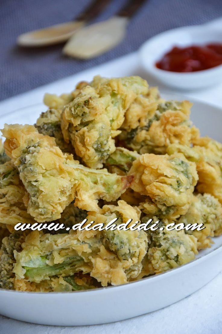 Diah Didi's Kitchen: Brokoli Crispi & Ikan Bumbu Kecap Pedas