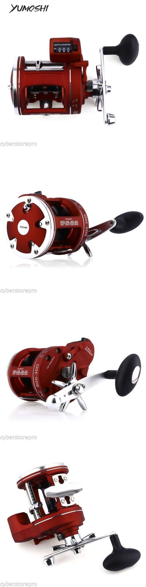 Spincasting Reels 108154: Yumoshi 12 Bearings Fishing Reel With Electric Depth Counting Multiplier -> BUY IT NOW ONLY: $33.99 on eBay!