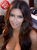 Stock Kim Kardashian Full Lace Human hair Wig - Wavy -clw045-s [clw045] - $305.99 : Full Lace Wigs Lace Front Wigs Lace Wigs @ RPGSHOW