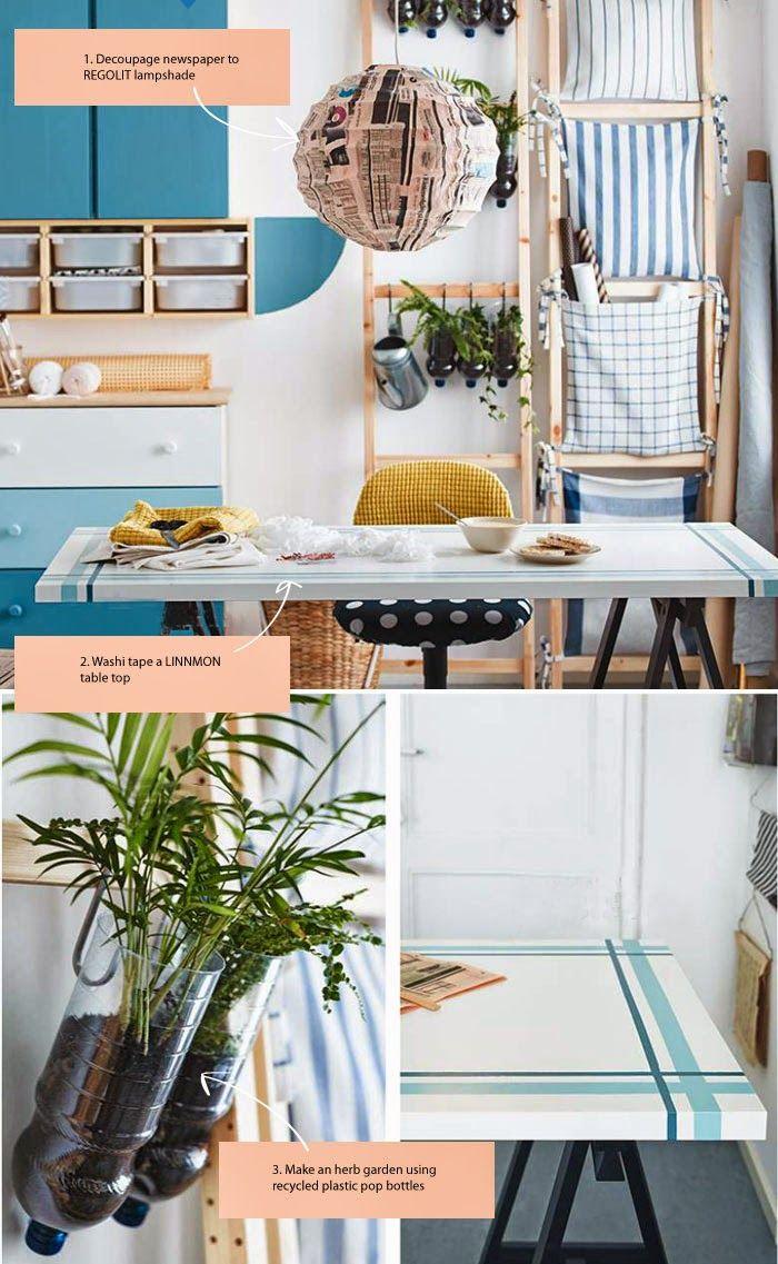 10+ DIY Ideas from the 2015 iKEA Catalogue