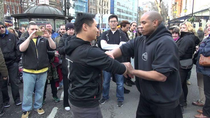 WING CHUN VS WING CHUN in Central London (詠春對詠春)