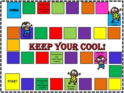 Anger Management Game - Keep Your Cool from FunTeach on TeachersNotebook.com -  (15 pages)  - Cool Game for Counseling Sessions