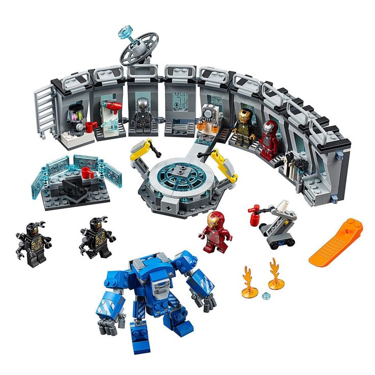 Iron Man Hall of Armor Play <b>Set</b> by LEGO - Marvel Avengers | <b>Panda</b> ...