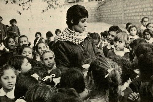 Leila Khaled (1944 - )  Leila Khaled is a member of the Popular Front for the Liberation of Palestine and a convicted airline hijacker who was later released in a prisoner exchange for civilian hostages kidnapped by her fellow PFLP members.