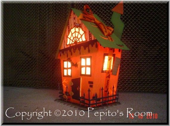 10 best images about dwellings haunted houses on for How to make a cardboard haunted house