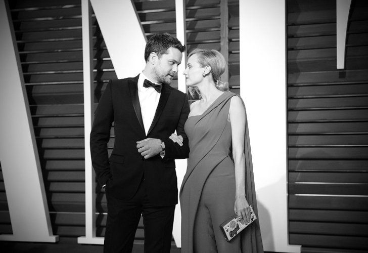 Pin for Later: Stunning Oscars Pictures You Haven't Seen Yet Diane Kruger and Joshua Jackson