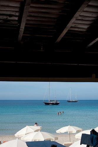 Jockey Club, chic international Ibiza beach restaurant in las Salinas