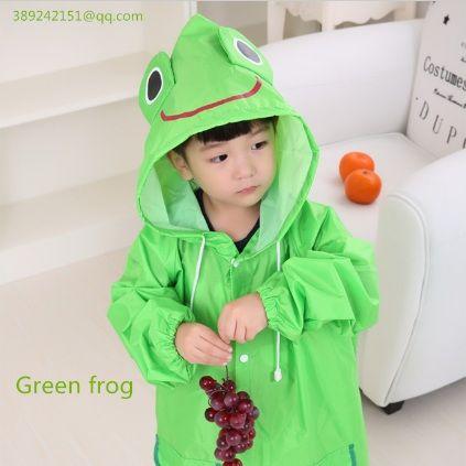 Cute animals  Kids creative rain coat children raincoat rainwear/rainsuit,childrens waterproof raincoat
