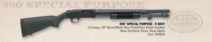 Mossberg 590 Special Purpose,