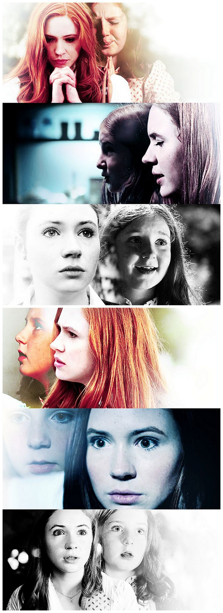 """Poor Amelia Pond, still such a child inside. Dreaming of the magic Doctor."" #DoctorWho"