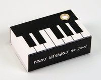 Streichholzschachtel Piano