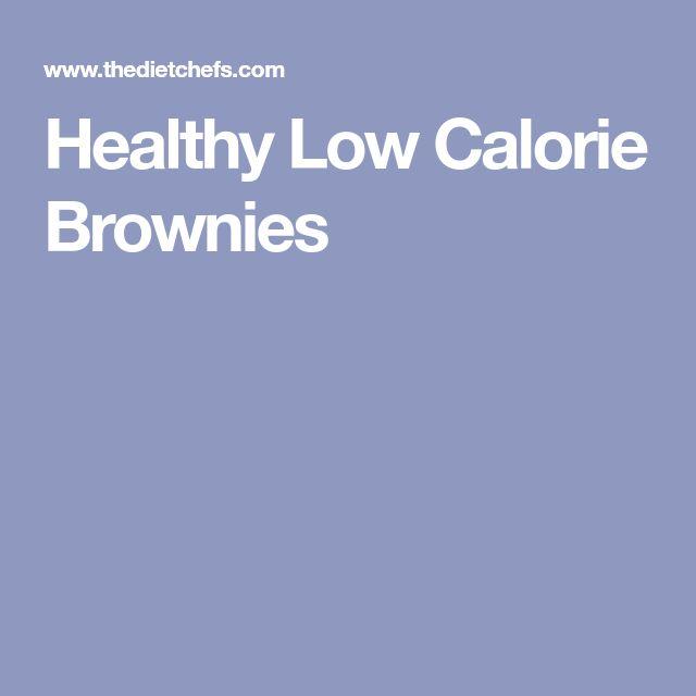 Healthy Low Calorie Brownies