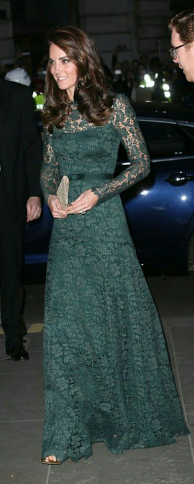 Catherine, Duchess of Cambridge, in Temperley, National Portrait Gallery Gala, March 2017