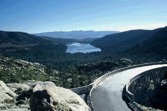 Donners pass Truckee California