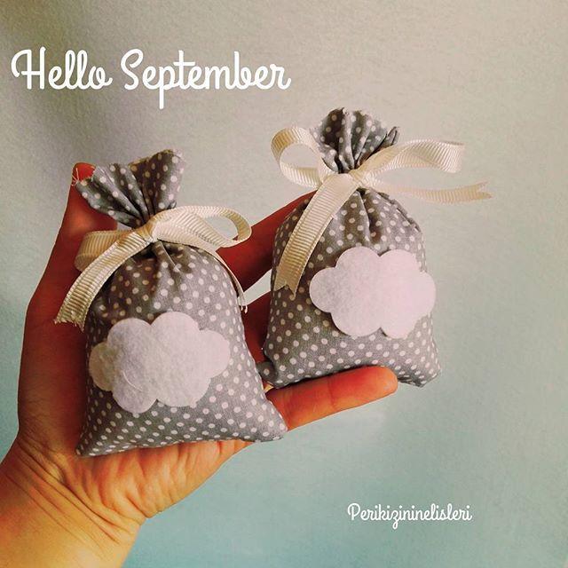 🍁🍁Hoşgeldin Eylül... Baharları bi ayrı severim. İlk olsun, son olsun 🍁🍁🍁 yeni model bulutlu lavanta keselerim. #helloseptember #keçe #felt #feltros #fieltro #kapisüsü #bebekmevlüdü #bebeksekeri #magnet #lavantakesesi #anıdefteri #fotografalbumu #bebekalbümü #takiyastigi #clouds