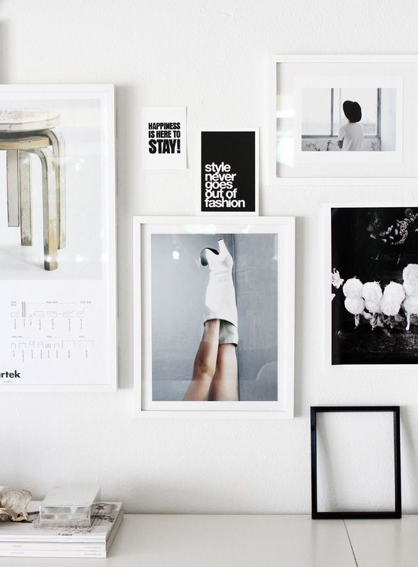 Home Decor Inspiration The Art Collage Wall