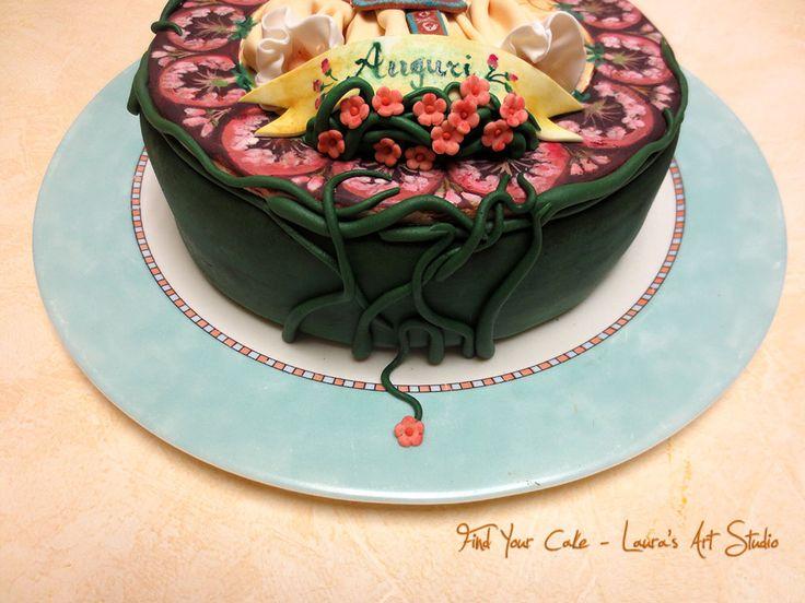 Torta Mucha Art Nouveau