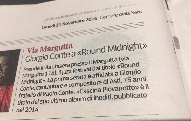 Corriere della Sera 21 Novembre 2016