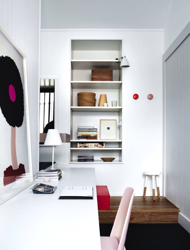 vogue living | steve whiting | compact study space