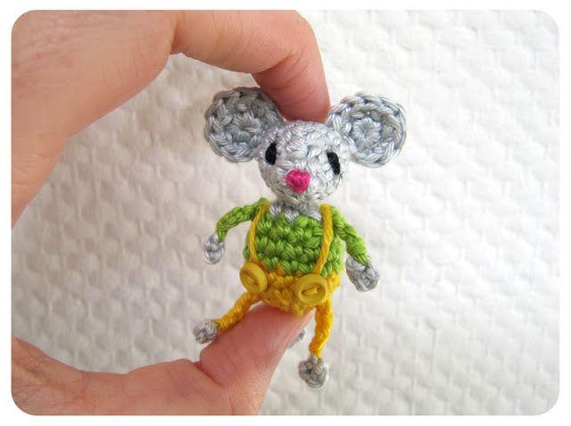 inge snuffel: luie zondag --- #crochet #mouse