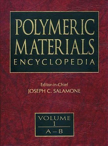 Polymeric Materials Encyclopedia Twelve Volume Set; Joseph C. Salamone; Hardback