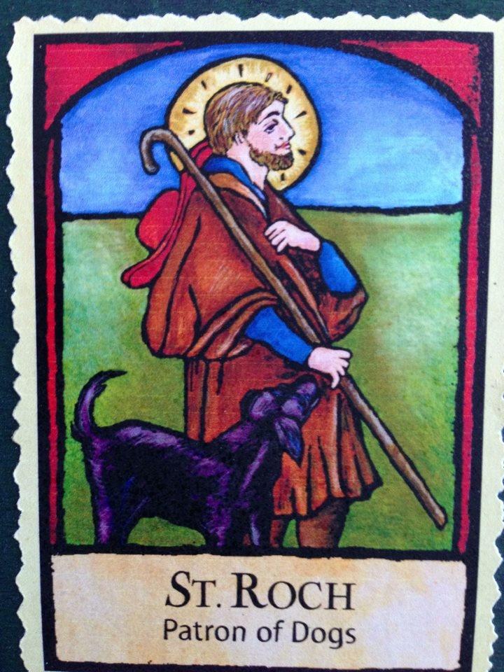 McLean Puppy Chronicles Saint Roch Patron Saint of Dogs