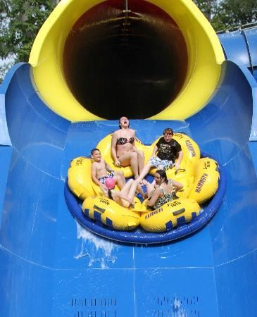 Holiday World & Splashin' Safari  ~ Santa Claus, Indiana ~ the #1 Water Park in the nation per TripAdvisor ~ awesome roller coasters ~ free parking, soft drinks & sunscreen stations ~ Southern Indiana ~ love this place!  ~