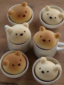 Zobacz zdjęcie Chlebowe misie!!!! ♥ Składniki: 1,5 szklanki mąki 1 łyżka cukru 'duża' szczyp...