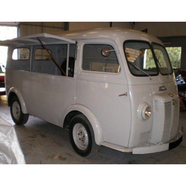 peugeot D3A fourgon 1953