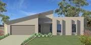 Austart Home Designs: Sunrise 289-BLC-2600: Optional Facade 1. Visit www.localbuilders.com.au to find your ideal home design in Tasmania