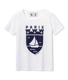 T-shirt adulte à motif escale PARIS - Petit Bateau